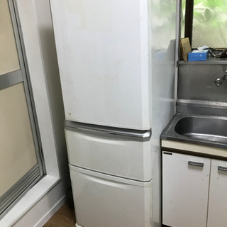 【無料】MITSUBISHI 335L 2011年 3ドア冷凍冷蔵庫