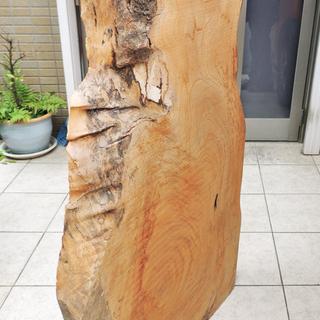 大きなケヤキ 天板 無垢板 材木 一枚板