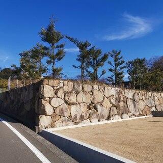 ええ土地。日当たり良し。石垣がかっこいい!@高松市牟礼町