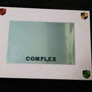 COMPLEX コンサートパンフレット&デビューシングルCD