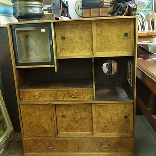 レトロ 茶箪笥 水屋箪笥 収納家具 茶棚 和棚 飾り棚 食器棚