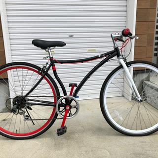 クロスバイク 700cKENDAタイヤ シマノ6段変速ギア CC...
