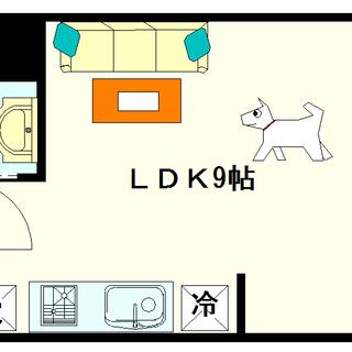 【プレアデス難波西】2号タイプ!1LDKタイプ!ゆったりと一人暮...
