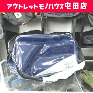 未使用 ミズノ セカンドバッグ 容量 33L ネイビー シ…
