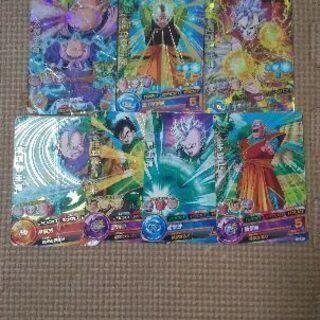 30. 7枚 50円ドラゴンボールカード