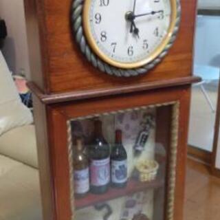 新品未使用アンティーク調置き時計