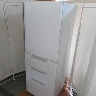 J1353/冷蔵庫/4ドア/右開き/自動製氷機能/ホワイト/アク...
