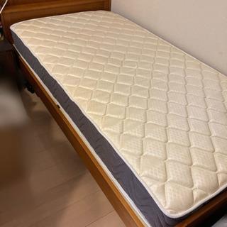 マットレス付き♪シングルベッド