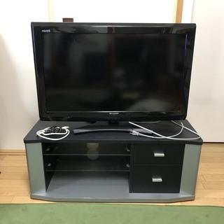 SHARP LC-32E9 32型テレビとテレビ台セット ※リモ...