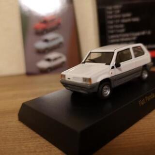 【京商】ミニカー 1/64 Fiat Panda 白