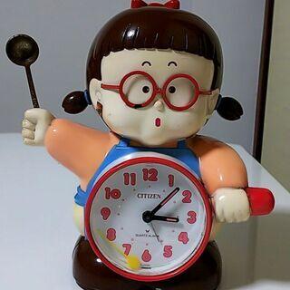 【激レア】昭和レトロ シチズン おたまちゃん 目覚まし時計