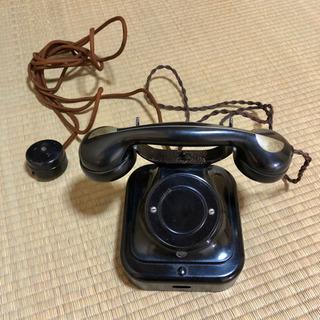 レトロ 黒電話