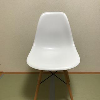 イームズチェア リプロダクト(ホワイト) - 家具