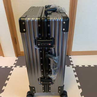 (新品)スーツケース 40L アルミ合金ボディ フレームタイプ ...