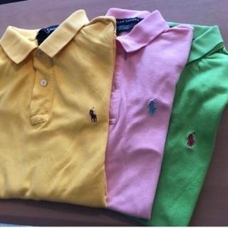 【RALPH LAUREN】ポロシャツ 3枚セット
