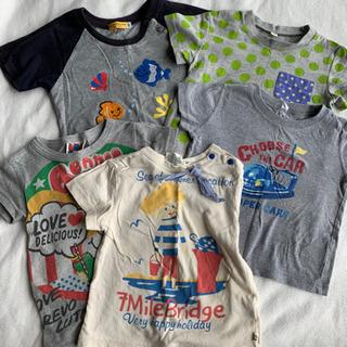 ⭐︎90〜95㎝ Tシャツ 5枚セット⭐︎