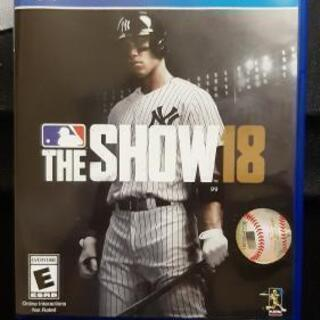 MLB The Show 18  PS4   海外版