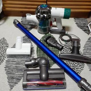 分解洗浄‼️大容量バッテリー新品❗ダイソンコードレス