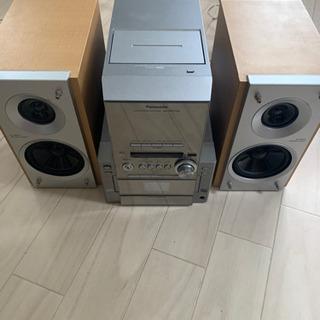 Panasonic CD/MDコンポ 2000円【本日引き取りで...