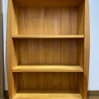 (受け渡し予定者決定)ウッディプッディ 子供用本棚