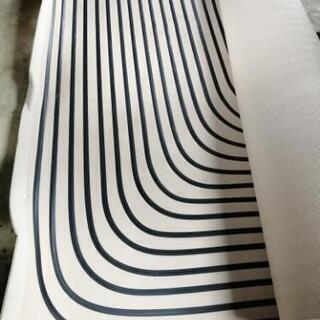 決まりました❗床暖ストーブ用マット差し上げます