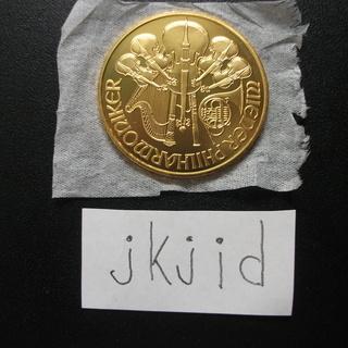 ウイーン金貨1オンス 売ります。