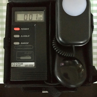 【値下げしました❗️】デジタル照度計 カスタム LX1332