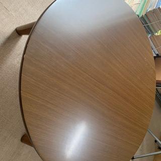 ローテーブル コタツテーブル 丸型