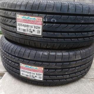 未使用YOKOHAMAタイヤ205/60R ブルーアース