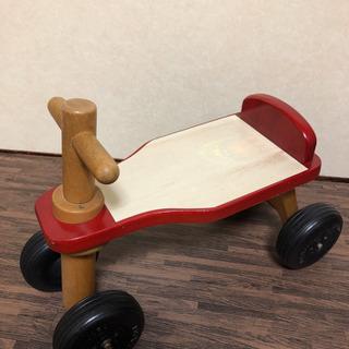子供 バイク 木製