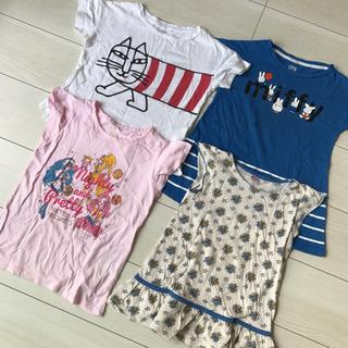 UNIQLO ユニクロ 女の子シャツ 4枚