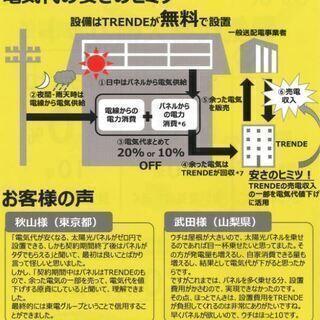 """【柏市在住の方に朗報!】太陽光パネルを無料で設置致します!ご自宅の屋根をお貸し下さい!""""電気代カット!災害時も安心♪ 環境保護にも◎"""" − 千葉県"""