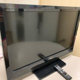 【譲渡済】TOSHIBAレグザ液晶カラーテレビ東芝32型