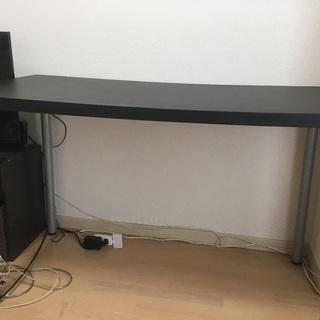 【問い合わせ対応中】IKEA リンモン 120cm 黒
