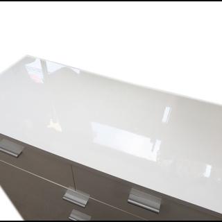 新札幌発 アイリスオーヤマ 塗装家具シリーズ チェスト 収納ラック 5段 ホワイト - 札幌市