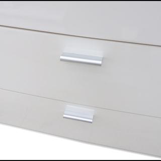 新札幌発 アイリスオーヤマ 塗装家具シリーズ チェスト 収納ラック 5段 ホワイト − 北海道