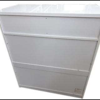 新札幌発 アイリスオーヤマ 塗装家具シリーズ チェスト 収納ラック 5段 ホワイト - 売ります・あげます