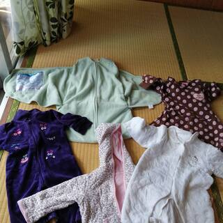 新生児用衣類(冬物 女の子)