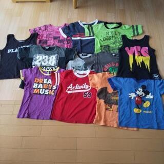 男の子 Tシャツとタンクトップの12枚まとめ売り