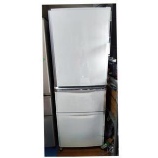 三菱 335リットル 3ドア冷蔵庫 2013年製 MR-C34W...