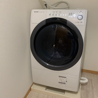 【未使用】SHARP 7.0kg/3.5kgドラム洗濯乾燥機