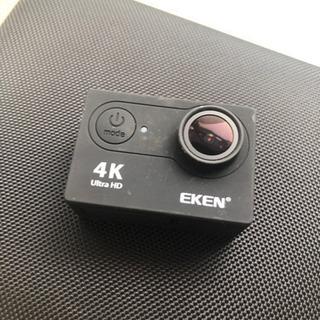 【マイクロSD付き】EKEN アクションカメラ H9R4K
