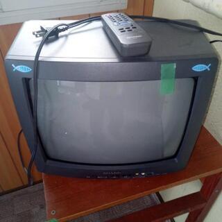 ブラウン管テレビ シャープ 2台