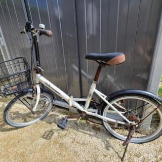 難あり!!折りたたみ自転車 【お話し中】