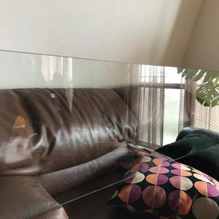 ネルソンベンチ/ネルソンテーブル用ガラス板180cm×45cm×...