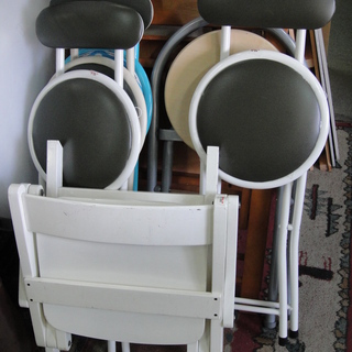 折りたたみチェア 折畳椅子 フォールディングチェア 簡易椅子 パ...