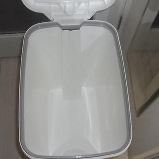 ★リス ゴミ箱 アルバーノ プッシュペタルペール 45L ホワイト 2way ★ - 家具