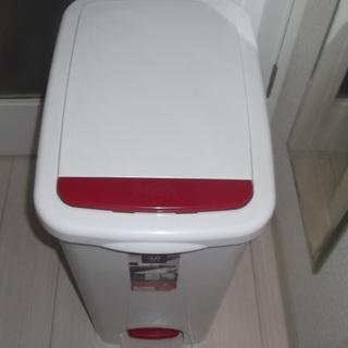 ★リス ゴミ箱 アルバーノ プッシュペタルペール 45L ホワイト 2way ★の画像