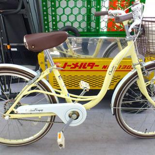 22インチ 子供用自転車 切り替えなし LEDオートライト 鍵付...