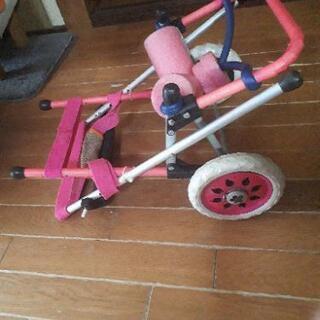 【無料】犬用自作車椅子